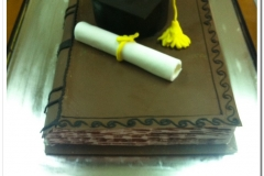 Τούρτα αποφοίτησης