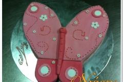 Τούρτα πεταλούδα