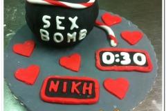 Τούρτα sex bomb