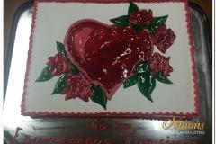Τούρτα καρδια1