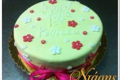 Τούρτα λουλουδάκια (2)