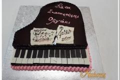 Τούρτα πιάνο