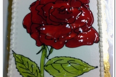 Τούρτα τριαντάφυλλο (2)