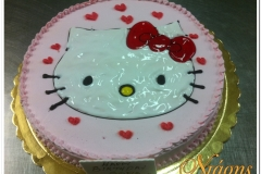 Τούρτα hello kitty (2)